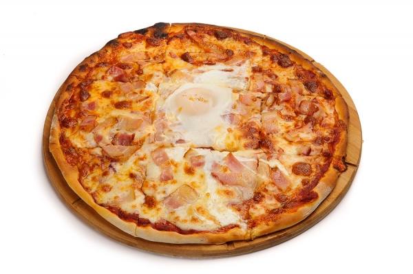 Пицца «Карбонара»