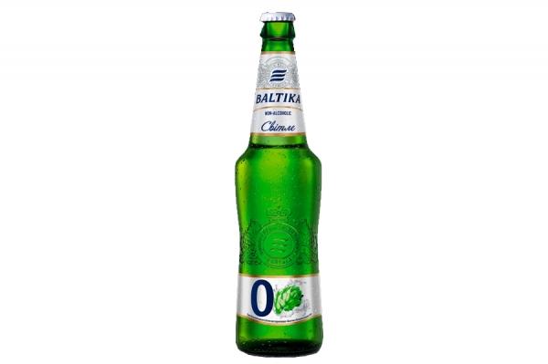 Пиво «Балтика» 0% 0.5 мл.