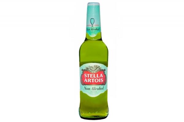 "Пиво «Stella Artois"" 0% 0.5 мл."